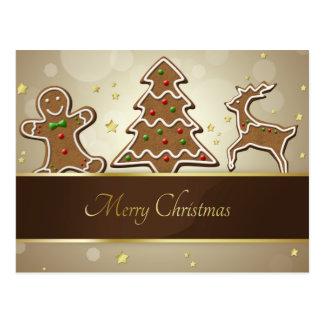 Gingerbread Cookies - Postcard