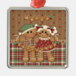 Gingerbread Country Christmas Christmas Ornaments