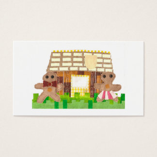 Gingerbread Couple Business Cards