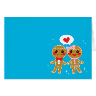 Gingerbread Couple Card