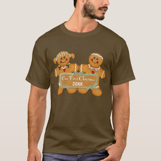 Gingerbread Couple First Christmas T-Shirt