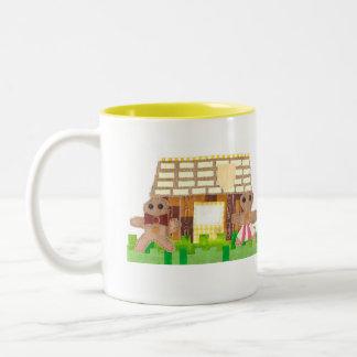 Gingerbread Couple Mug