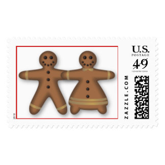 Gingerbread Couple Stamp