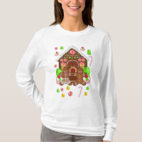 Gingerbread Crazy TShirt - Fun Christmas T Shirt