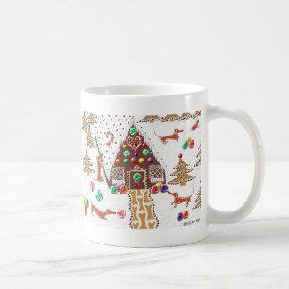 Gingerbread Dachshund Mug