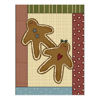 Gingerbread Delights Post Card