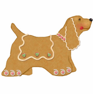 Gingerbread Dog Ornament