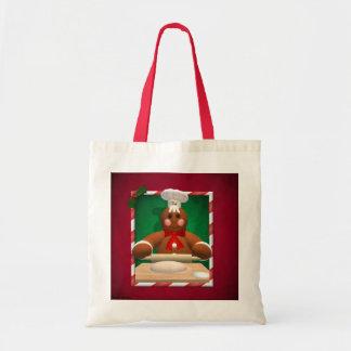 Gingerbread Family: Baker Fun Canvas Bag