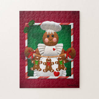 Gingerbread Family: Bakery Girl Jigsaw Puzzle