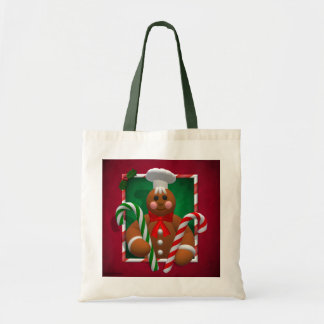 Gingerbread Family: Candy Boy Canvas Bag