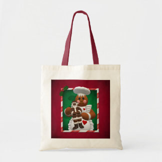 Gingerbread Family: Chocolate Girl Canvas Bag