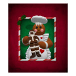 Gingerbread Family: Chocolate Girl Poster