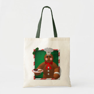 Gingerbread Family: Little Baker Canvas Bag