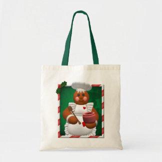 Gingerbread Family: Little Bakery Girl Bags