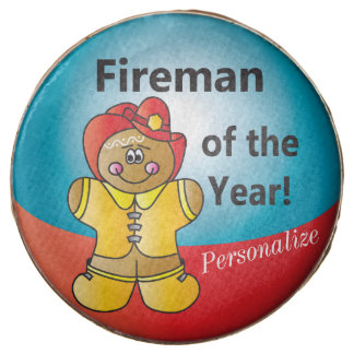 Gingerbread Fireman of the Year Treats Chocolate Covered Oreo