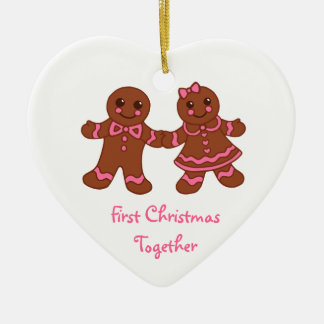 Gingerbread First Christmas Ornament
