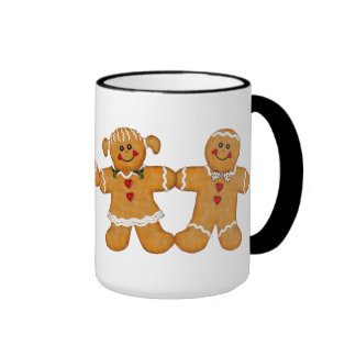 Gingerbread Fun - Couple Coffee Mugs