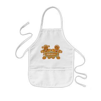 Gingerbread Fun - Customize Kids' Apron