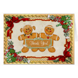 Gingerbread Fun Holiday Thank You Cards