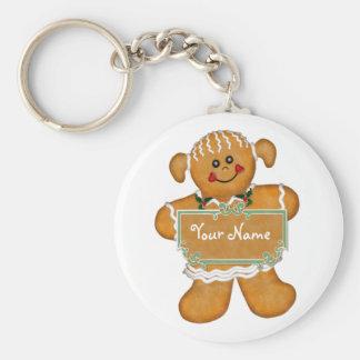 Gingerbread Fun Keychain