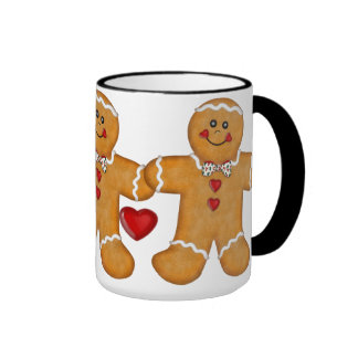 Gingerbread Fun - Man Ringer Mug