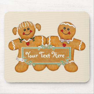Gingerbread Fun Mouse Pad