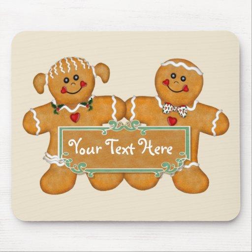Gingerbread Fun Mousepads