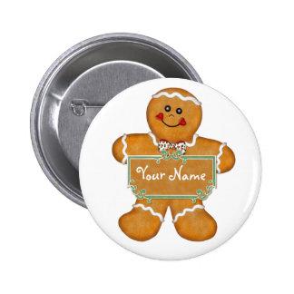 Gingerbread Fun Pinback Button