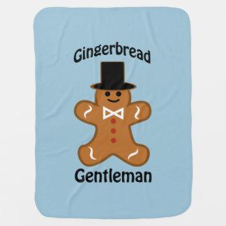 Gingerbread Gentleman Baby Blanket