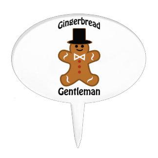 Gingerbread Gentleman Cake Topper