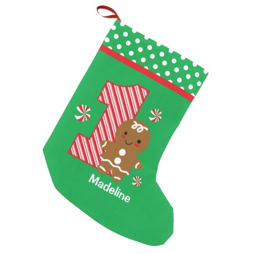 1st Christmas Stocking Personalized