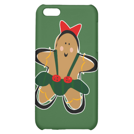 Gingerbread girl case for iPhone 5C