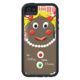 Gingerbread Girl Christmas  iPhone 5/5S Case