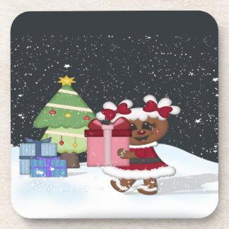 Gingerbread Girl Coaster