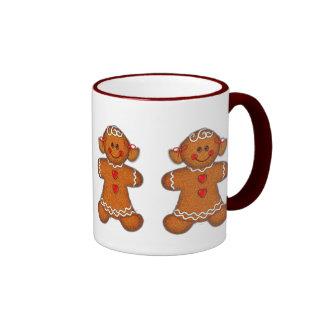 GINGERBREAD GIRL COOKIE by SHARON SHARPE Coffee Mug