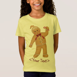 Gingerbread Girl - Customize T-Shirt