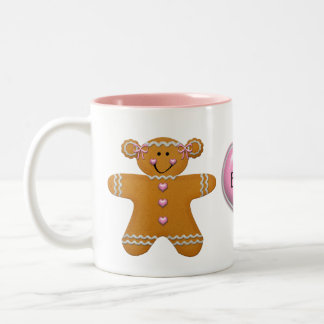 Gingerbread Girl Mug ~ Customize with Name
