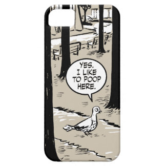 Gingerbread Girl Pigeon iPhone SE/5/5s Case