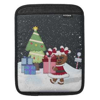 Gingerbread Girl Sleeve For iPads