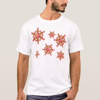GINGERBREAD GIRL STAR by SHARON SHARPE T-Shirt