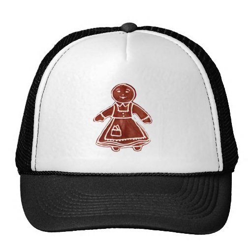 Gingerbread Girl The MUSEUM Zazzle Gifts Trucker Hats