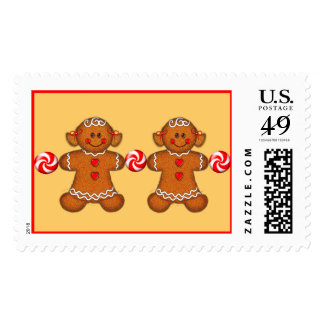 GINGERBREAD GIRLS  by SHARON SHARPE Postage