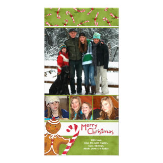 Gingerbread Greetings Card