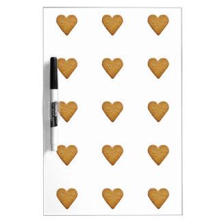Gingerbread Heart Dry-Erase Board