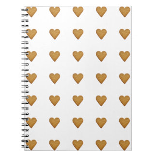 Gingerbread Heart Note Book