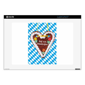 """gingerbread heart - WOWCOCO 15"""" Laptop Decal"""