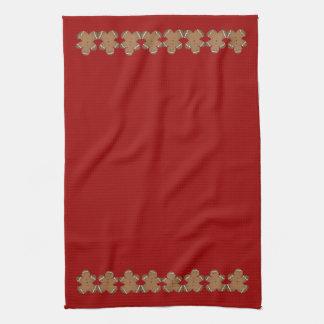 Gingerbread Holiday Dish Towels