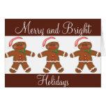 Gingerbread Holiday Greeting Card