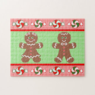 Gingerbread Holiday Jigsaw Puzzle