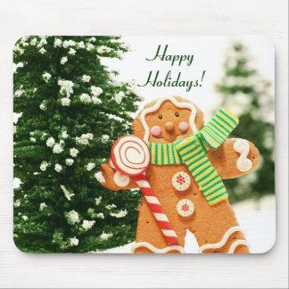 Gingerbread Holiday Mousepad